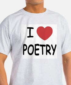 I heart poetry T-Shirt