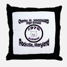 Charles W. Woodward 1976 Alum Throw Pillow