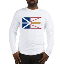 Newfoundland Flag Long Sleeve T-Shirt