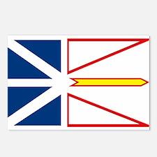 Newfoundland Flag Postcards (Package of 8)
