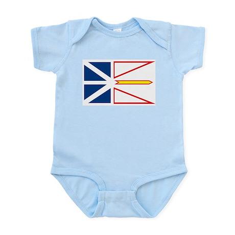 Newfoundland Flag Infant Creeper