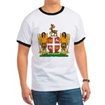 Newfoundland Coat of Arms Ringer T