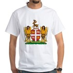 Newfoundland Coat of Arms White T-Shirt
