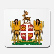 Newfoundland Coat of Arms Mousepad