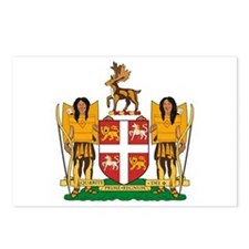 Newfoundland Coat of Arms Postcards (Package of 8)