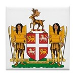 Newfoundland Coat of Arms Tile Coaster