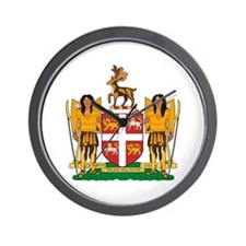 Newfoundland Coat of Arms Wall Clock