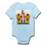 Newfoundland Coat of Arms Infant Creeper