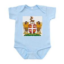 Newfoundland Coat of Arms Infant Creeper