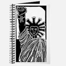 Black Statue of Liberty Journal