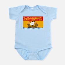 New Brunswick Flag Infant Creeper