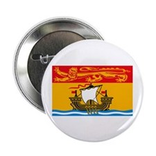 "New Brunswick Flag 2.25"" Button (10 pack)"