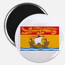 """New Brunswick Flag 2.25"""" Magnet (10 pack)"""