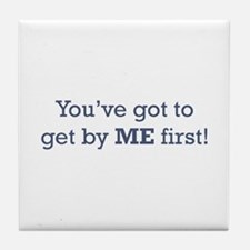 Get by me First Tile Coaster