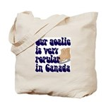 Popular goalie Tote Bag