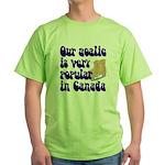 Popular goalie Green T-Shirt