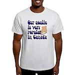 Popular goalie Ash Grey T-Shirt