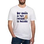 Popular goalie Fitted T-Shirt