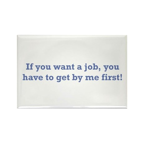 Job / First Rectangle Magnet (100 pack)