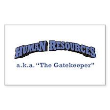 HR / Gatekeeper Decal