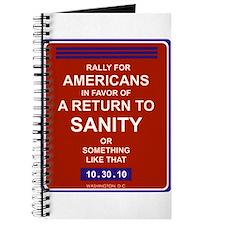 Unique Rally restore sanity Journal