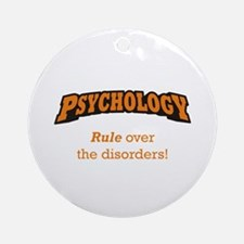 Psychology / Disorders Ornament (Round)