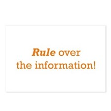 Rule / Information Postcards (Package of 8)