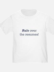 Rule / Resumes T