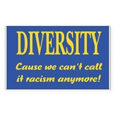 Call it racism Rectangle Decal