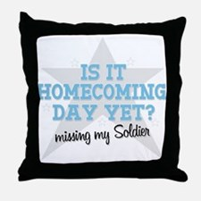 Is it Homecoming day yet? - M Throw Pillow