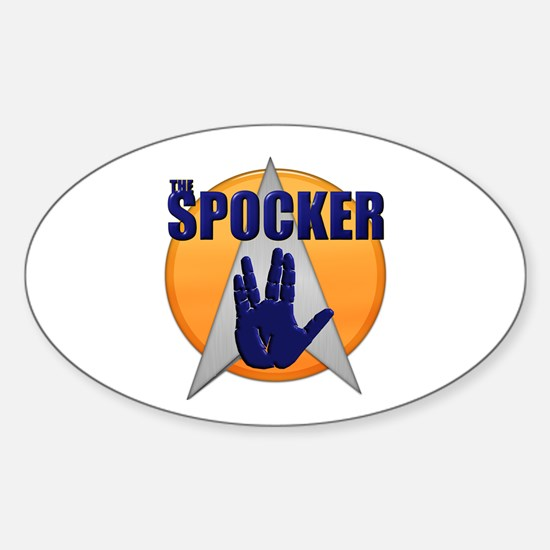 The Spocker Oval Decal