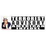 Advisory: American Infidel Bumper Sticker