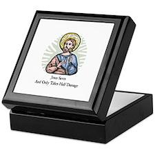 Jesus Saves Keepsake Box