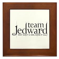Team Jedward Framed Tile