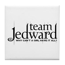 Team Jedward Tile Coaster