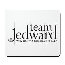 Team Jedward Mousepad