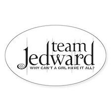 Team Jedward Decal