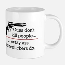 gunsdontkillpeople.png 20 oz Ceramic Mega Mug