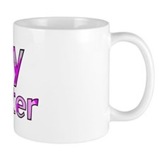 Navy Daughter Pink Camo Mug
