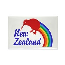 New Zealand Rectangle Magnet