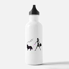 Bernese Mountain Dog Sports Water Bottle