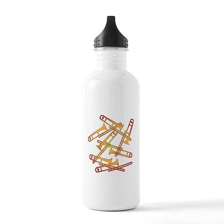 Fiery Trombones Stainless Water Bottle 1.0L