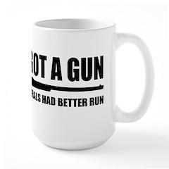 Cheney's Got A Gun Mug