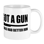 Cheney's Got A Gun Mug