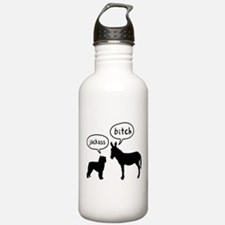 Bouvier Des Flandres Sports Water Bottle