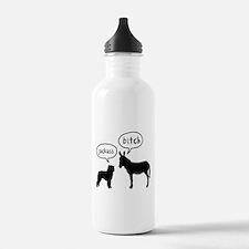 Bouvier Des Flandres Water Bottle