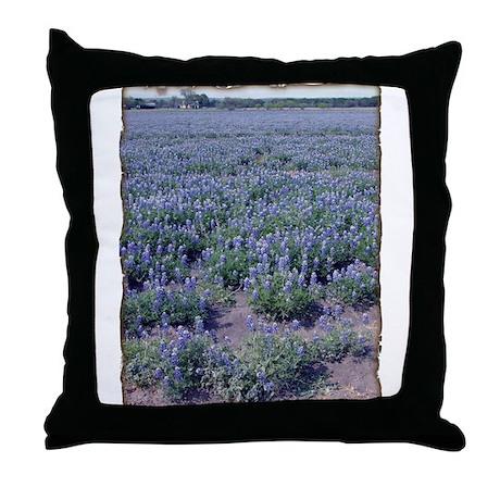 Sea 0' Blue Throw Pillow