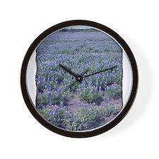 Sea 0' Blue Wall Clock
