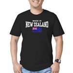 Made In New Zealand Men's Fitted T-Shirt (dark)