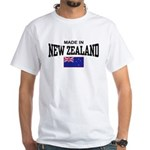 Made In New Zealand White T-Shirt
